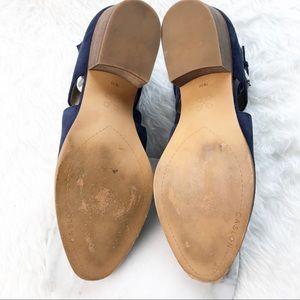 e74b5a537a1 Caslon Shoes - Caslon Tina Ankle Bootie Navy Suede Strap Heel